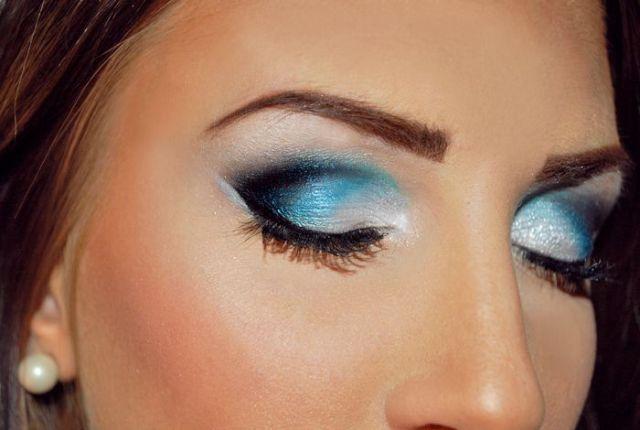 omber eye make up ideas