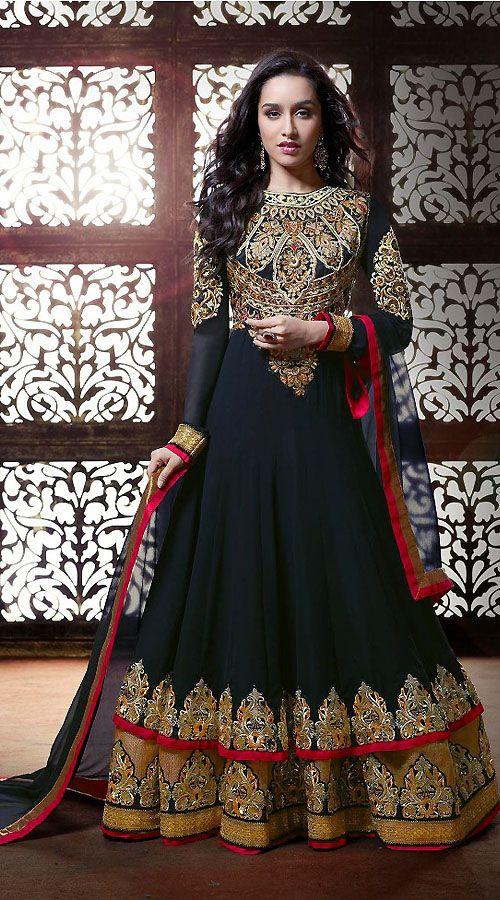 latest churidar suit designs