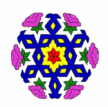 colorful rangavalli designs images