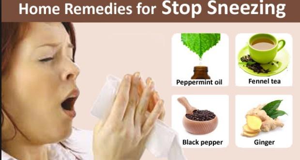 sneezing home remedies