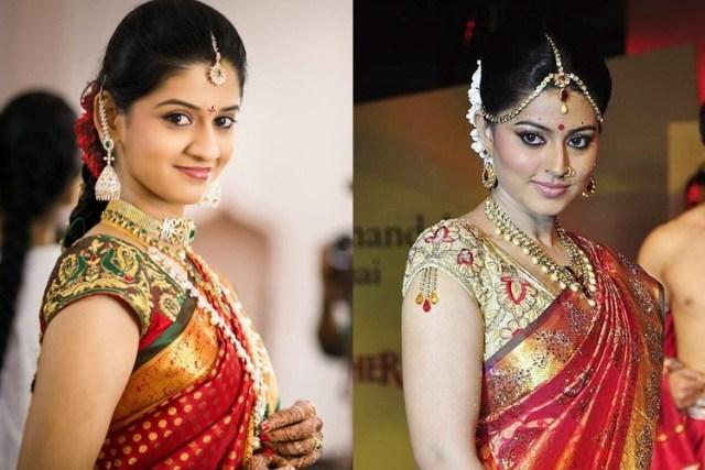wedding blouse design for silk saree