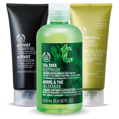 best men body shower gel