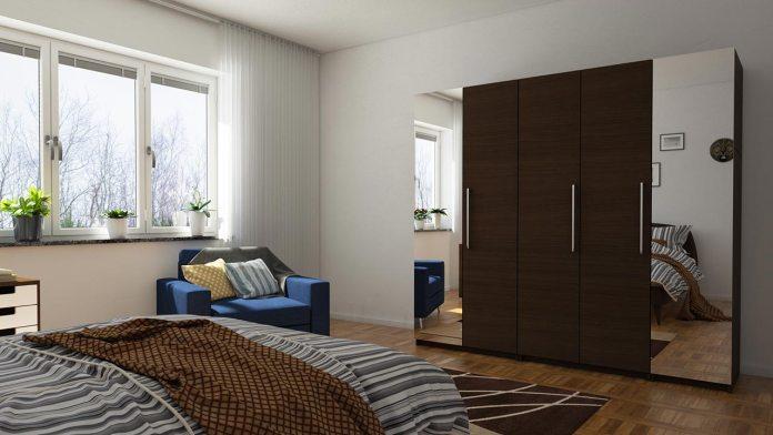 wardrobes with mirror designs