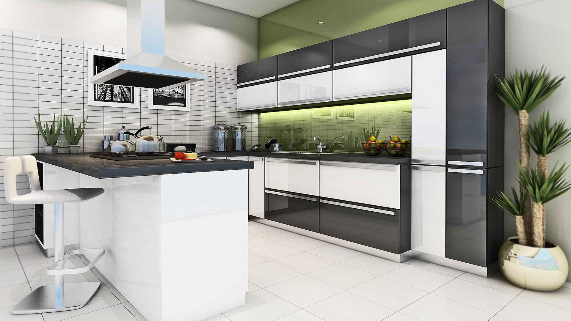 L Shaped Modular Kitchen Design Images