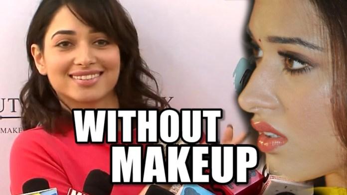 tamanna without makeup