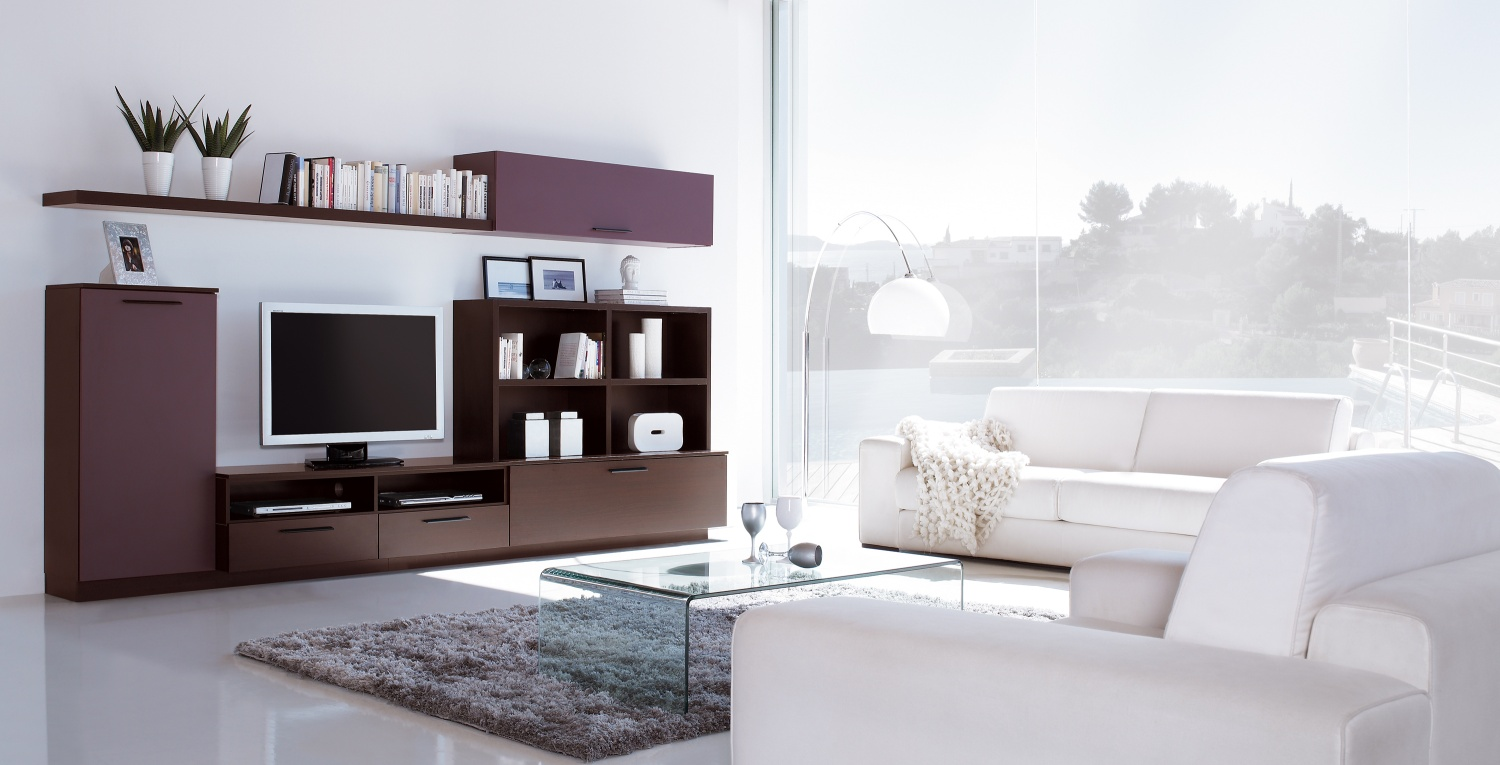 20 modern tv unit design ideas for bedroom living room for Very small living room designs with tv