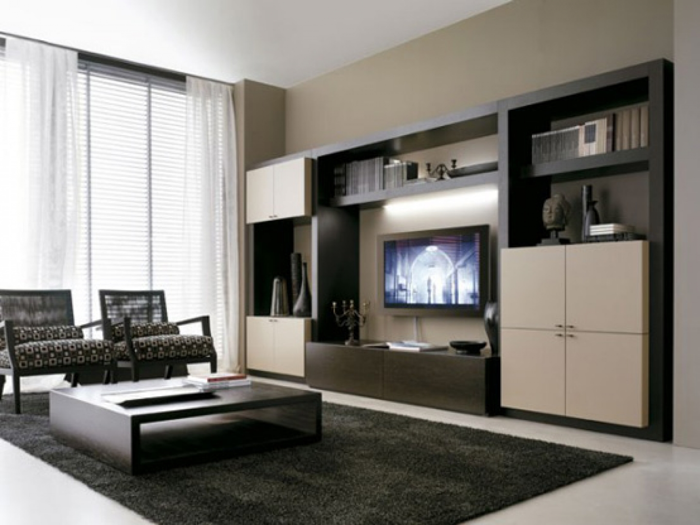 Living Room With Tv Unit 20 modern tv unit design ideas for bedroom & living room with pictures