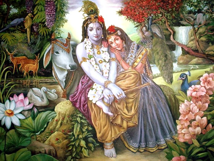 Radha Krishna 3D Beautiful Desktop HD Wallpapers