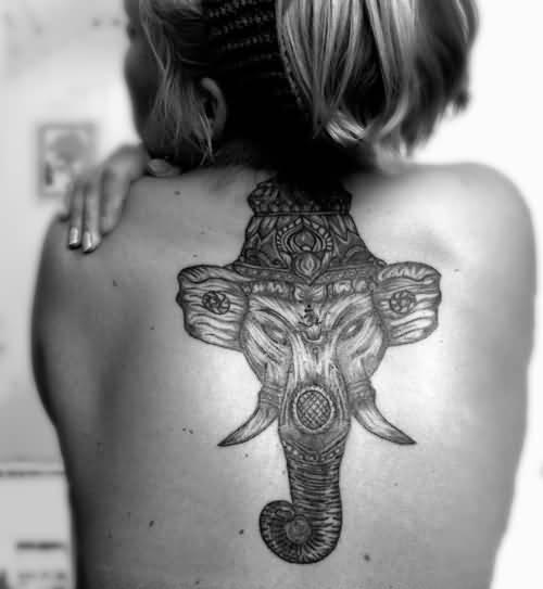 hindu god ganesh tattoo design