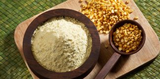 besan benefits for skin and hair