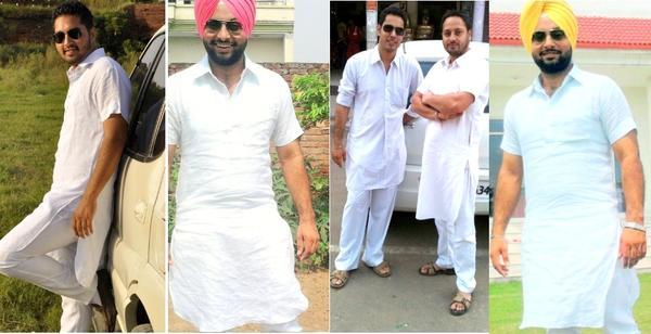 punjabi kurta pajama designs online