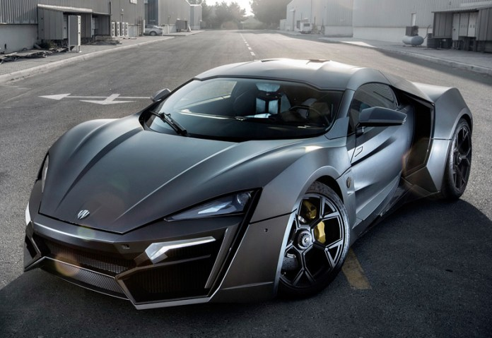 2013 W Motors Lykan Hypercar; top car design rating and specifications