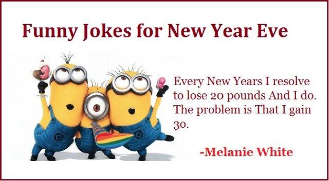happy new year jokes