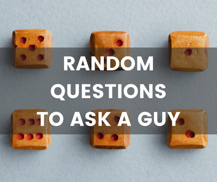 questions to ask a guy