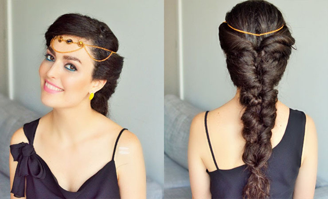Wonderful Party Hairstyle For Long Hair