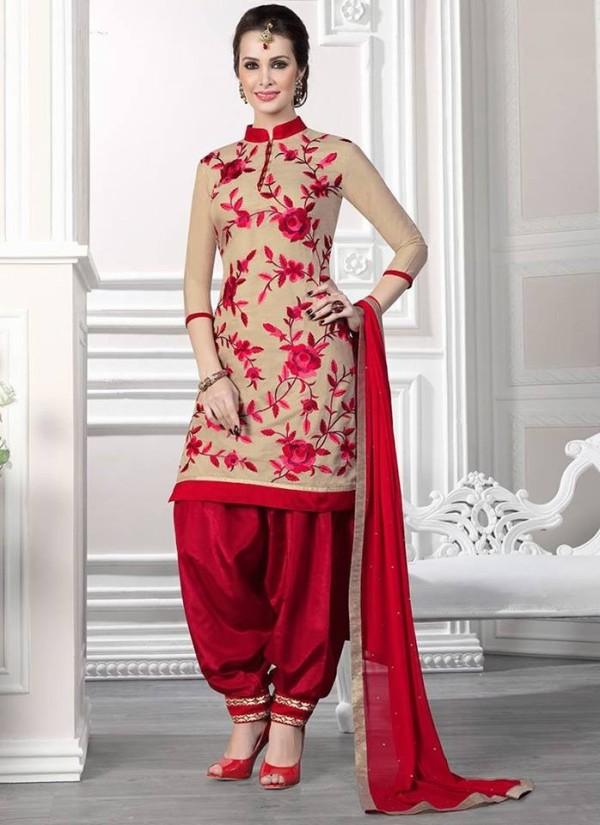 patiala suit design