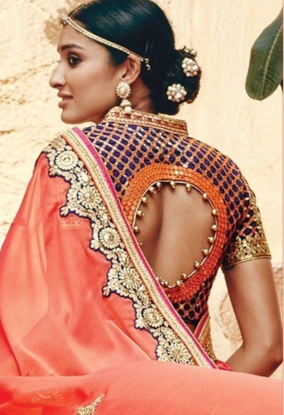 saree blouse cutting