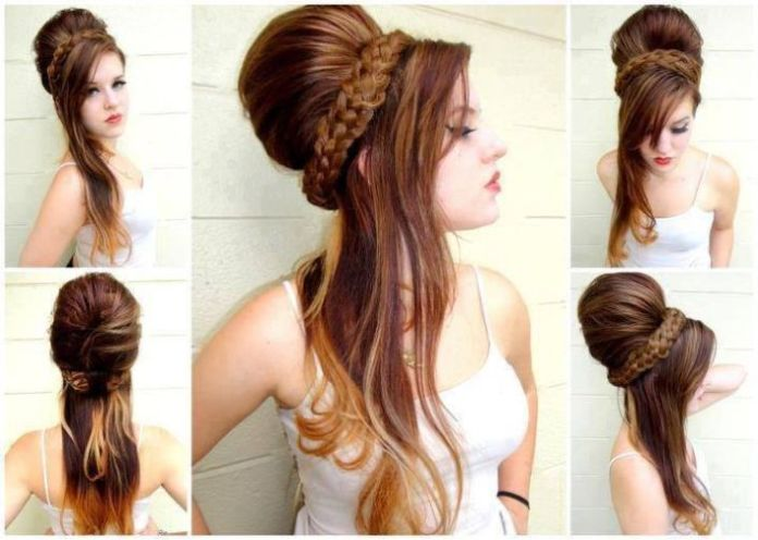 best hairstyle for party