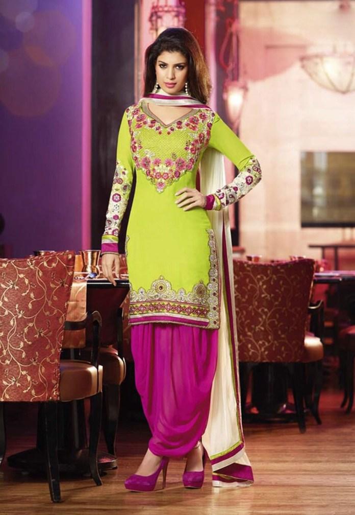 latest punjabi suit