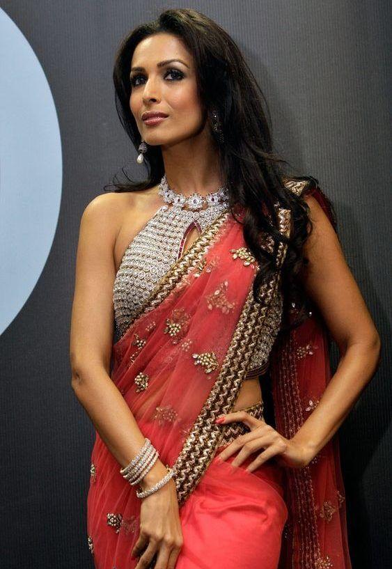 bollywood celebrity blouse neck design