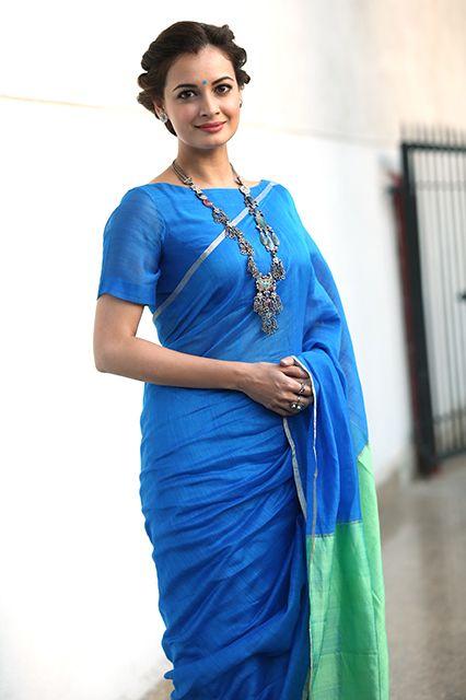 simple elegant blouse design