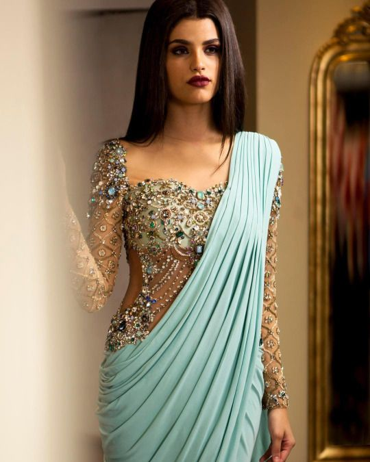 blouse neck design for bridal