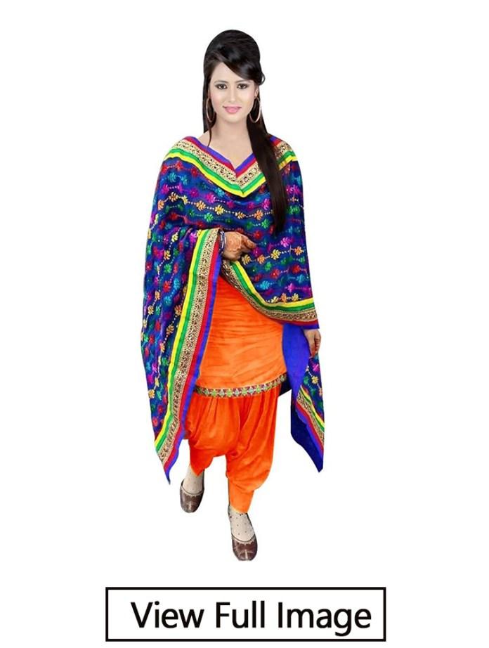 punjabi style suit design