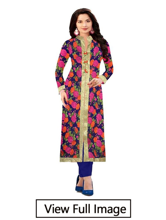 coller neck kurti design