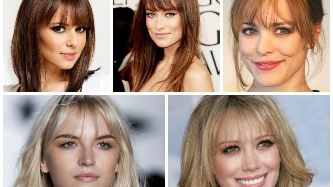 Hairstyles For Round Faces And Big Foreheads