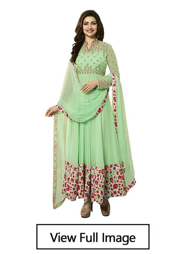 embroided kurti design