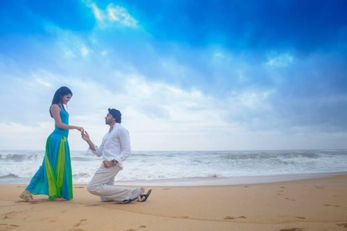 pre wedding shoot on beach