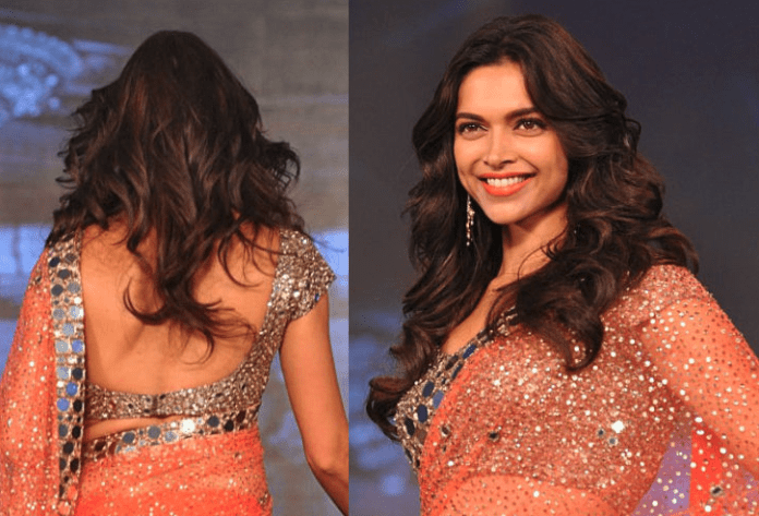 hairstyle on saree for party