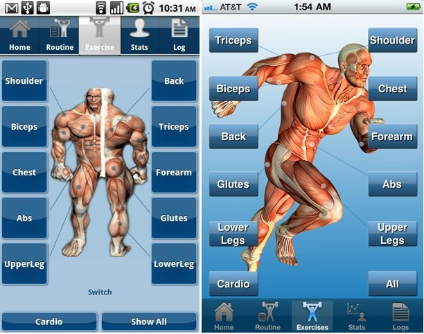 10 Best Bodybuilding Apps-Be Your Own Trainer