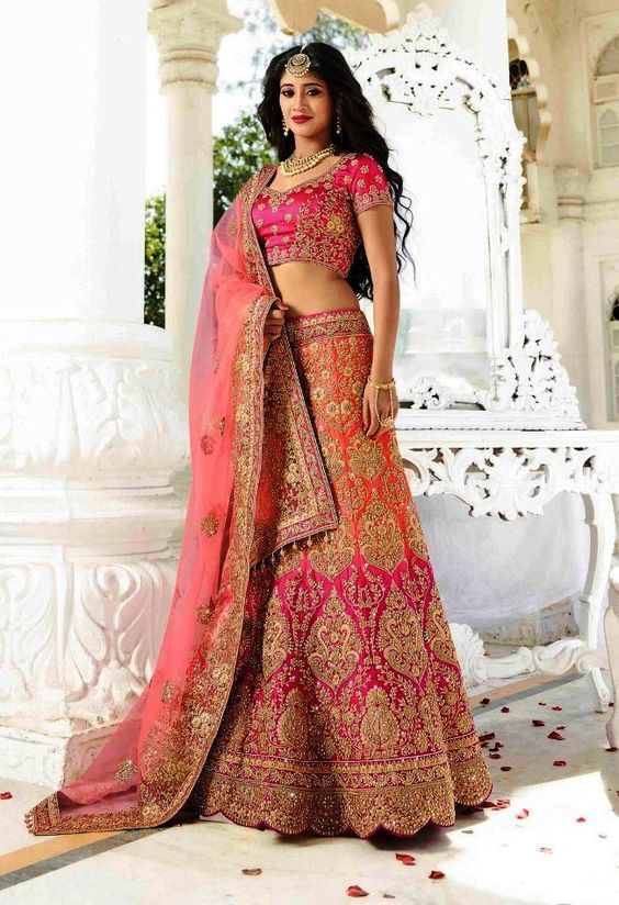 hairstyles for lehenga dress