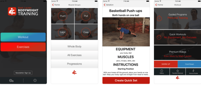 Top bodybuilding apps for iphones