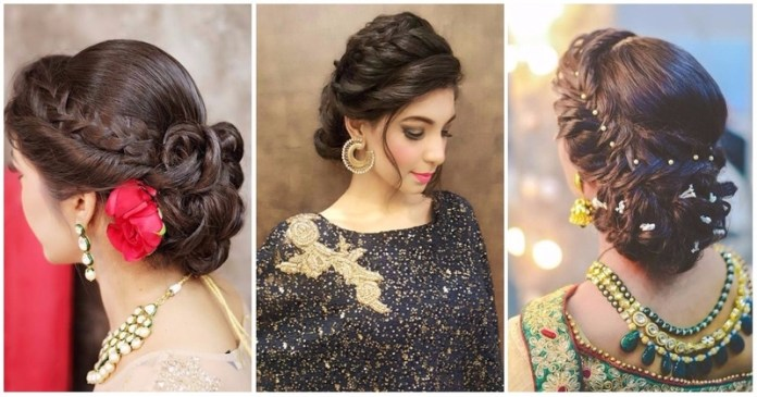 Beautiful Wedding Hairstyle For Long Hair Perfect For Any: Top 30 Most Beautiful Indian Wedding Bridal Hairstyles For