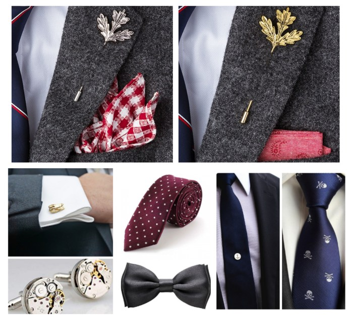 Accessories With Wedding Suits For Men