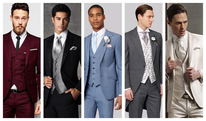 Wedding Three-Piece Suit For Groom