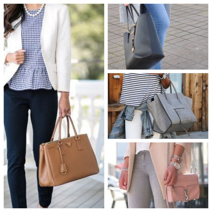 business casual bags
