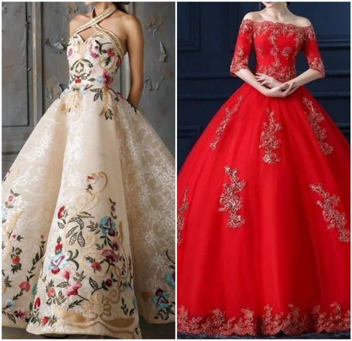 Ball Gown For Indian Wedding Online