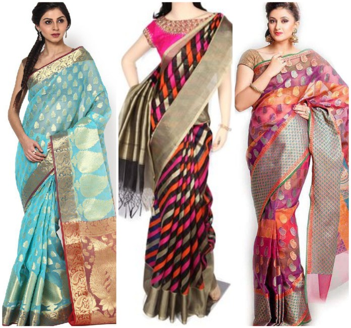 Banarasi Organza Saree Online
