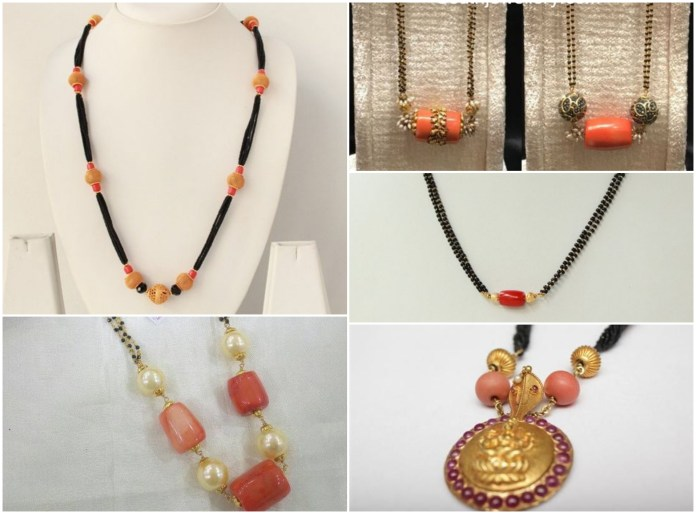 Latest Stunning Mangalsutra Designs For Woman/ Coral Mangalsutra