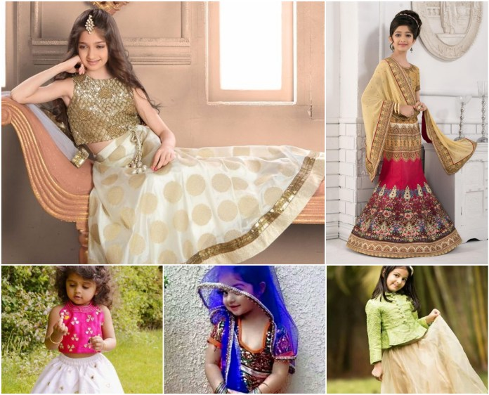 Designer Lehenga Choli For Kids