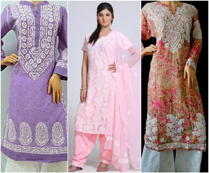 Lucknowi/ Chikan Salwar Suit