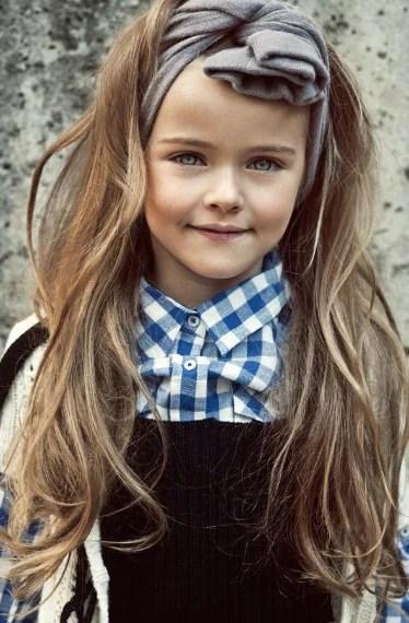 Kristina A 9 Anni è La Bambina Più Bella Del Mondo