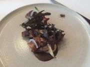 Hida A5 wagyu beef rolls with mushroom ketchup