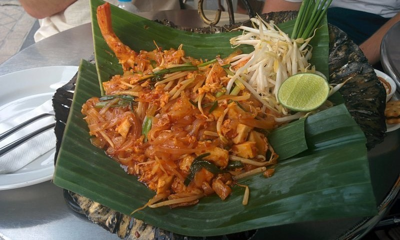 A typical pad thai