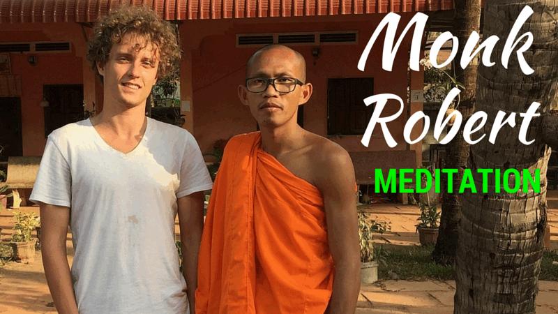 Monk Robert meditation