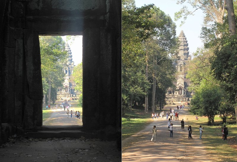 Angkor Wat from distance