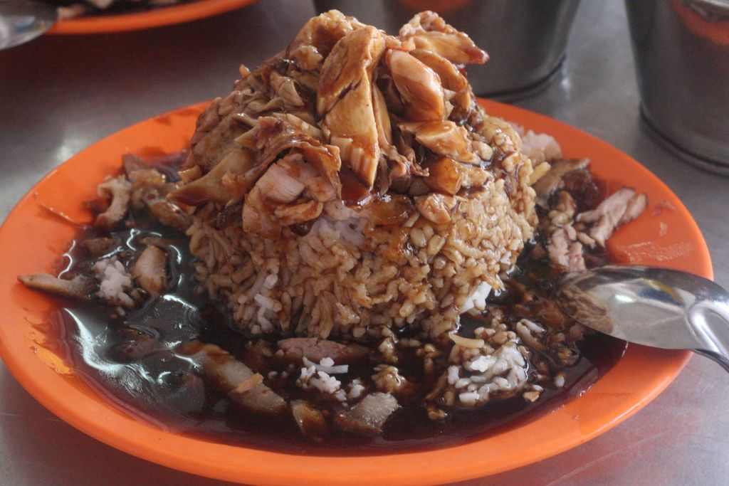 Bukit chicken cup rice